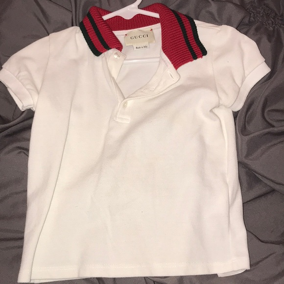 0428a729875e Gucci Other - GUCCI KIDS Children s cotton polo with Web